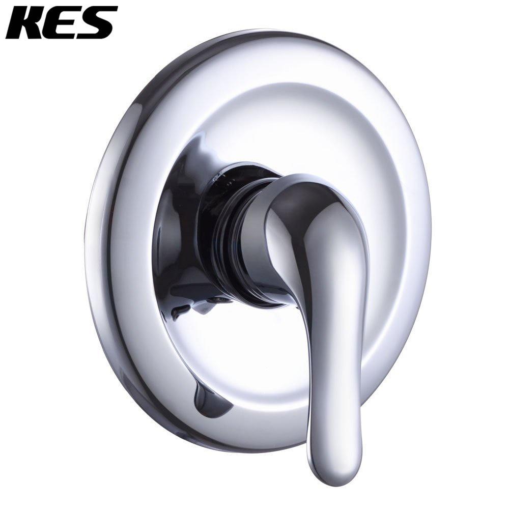 KES Pressue Balance Shower Faucet Set ANTI SCALD Single Handle Brass ...
