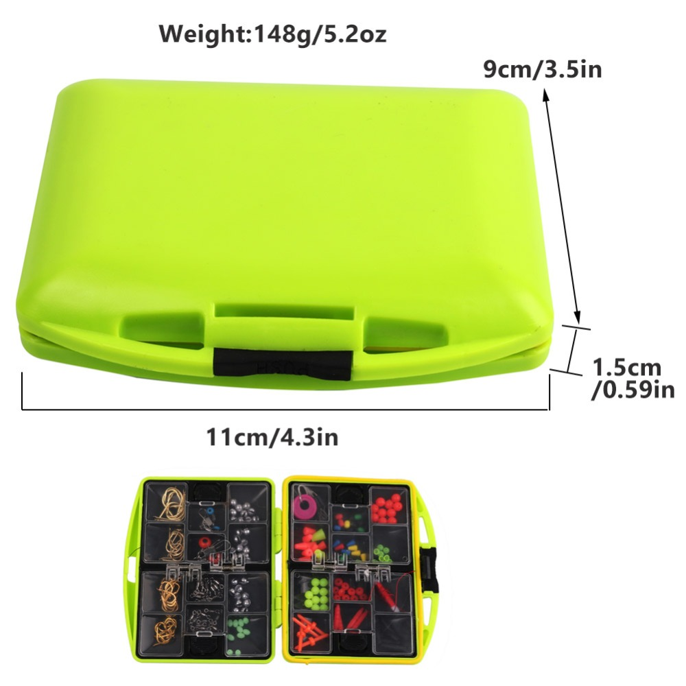 24-Compartments-Fishing-Tackle-Box-Full-Loaded-Hook-Spoon-Water-Resistant-Swivels-Fishing-Accessories-Sinker-Fishing