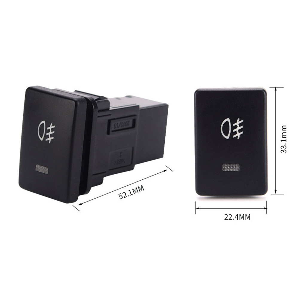 DC12V 4 Wire Foglight Switch Fog Light Button for Toyota-in Car ...