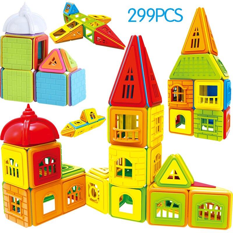 Designer Construction blocs magnétiques Construction magnétique jouets ensemble aimant jouets éducatifs pour enfants enfants cadeau 402 pièces