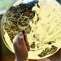 LED terrestrial globe English diameter 25cm Home office Decoration Lamp Gift