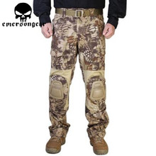 HLD MR Emerson  G2 Tactical Pants With Knee Pads Airsoft Emerson gen2 Combat Training Military Trousers EM7038 цена 2017