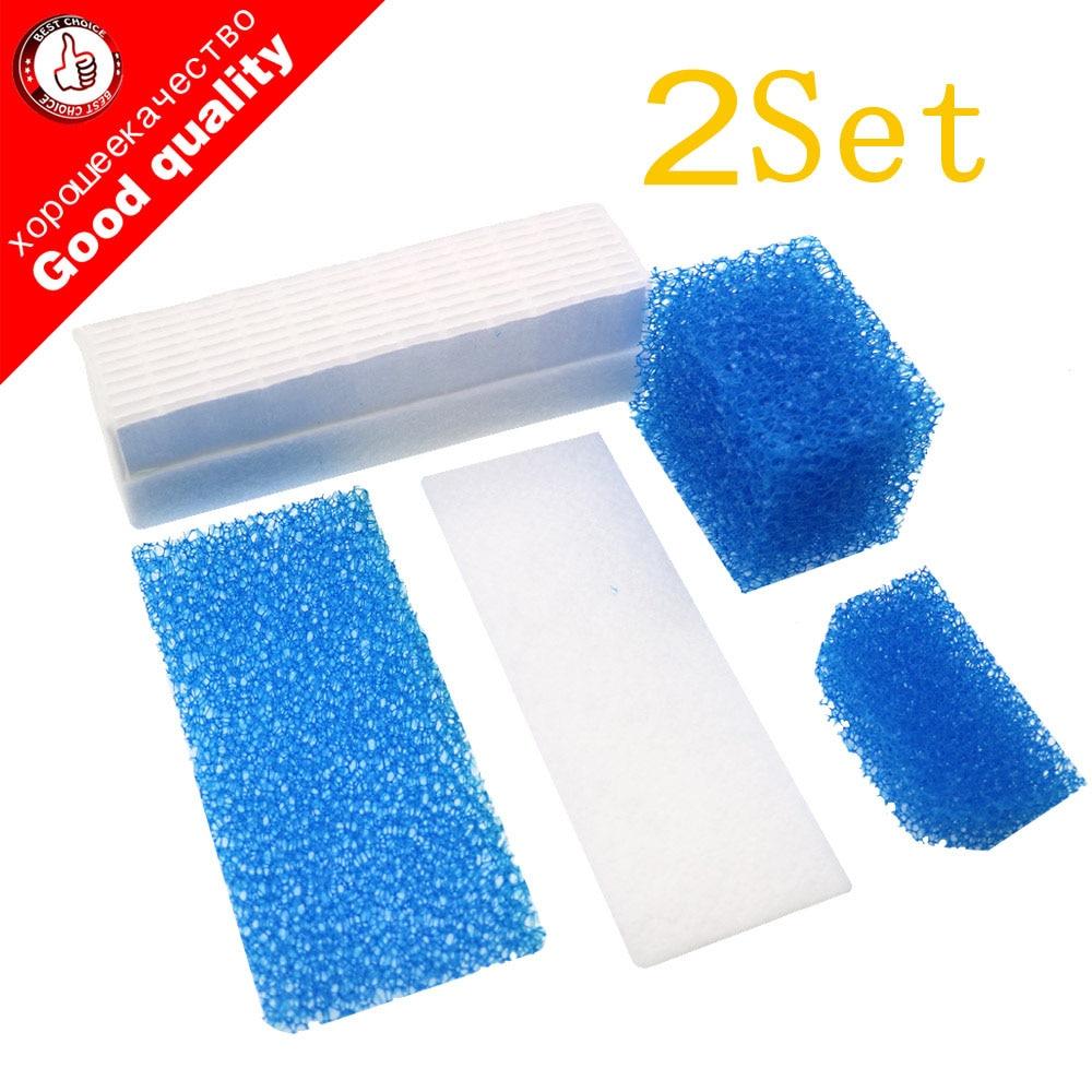 10pcs/2set Filters For Thomas Twin Genius Kit Hepa Filter For Thomas 787203 Aquafilter Genius Aquafilter Filters