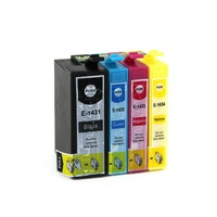 Full Ink 1Set 4 PCS Ink Cartridge T1431 T1432 T1433 T1434 FOR Epson ME OFFICE 82WD