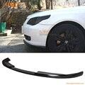 Para 2008 2009 2010 bmw e60 lci 530 525 535 h estilo pu front bumper lip spoiler poli uretano