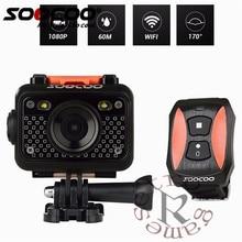 Original SOOCOO S60 Anti-Choque Câmera de Ação de Esportes, 30 m Wi-fi À Prova D' Água 1080 p Full HD 170 Graus Lente Sem Fio SOS sinal de flash
