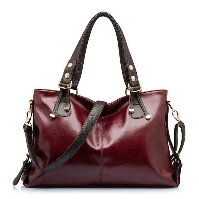 The new 2016 leather handbag fashion single shoulder bag leisure women messenger bag\ women handbag\female bags X0-062