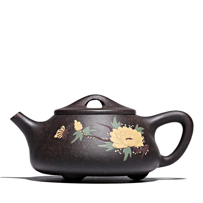 240ML Yixing teapot handmade zisha tea pot kung fu kettle with gift box drinkware suit tieguanyin dahongpao Oolong puer240ML Yixing teapot handmade zisha tea pot kung fu kettle with gift box drinkware suit tieguanyin dahongpao Oolong puer