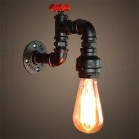 ICOCO Unikalne Archiwalne E27 Standardowy Wodociąg Lampa LED Do Montażu Na Ścianie Home Hotel Restauracja Światła Dekoracji Akcesoria Promocja Sprzedaży