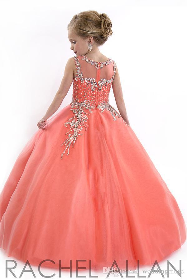 Aliexpress.com : Buy little girl prom dresses Pageant Dresses ...
