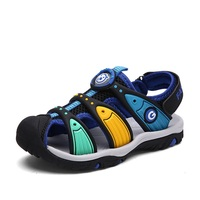 Summer Beach Sandals For Boys Children Cut Out Flat Shoes Baby Casual Comfortable Shoes Teen Quick Drying Sport Sneakers D0025