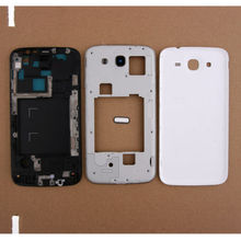 New Full Housing Case Cover Replacemet For Samsung Galaxy Mega 5.8 I9152 White