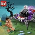Pirata enlighten educativos bloques de construcción de juguetes para los niños regalos mini compatible con legoe