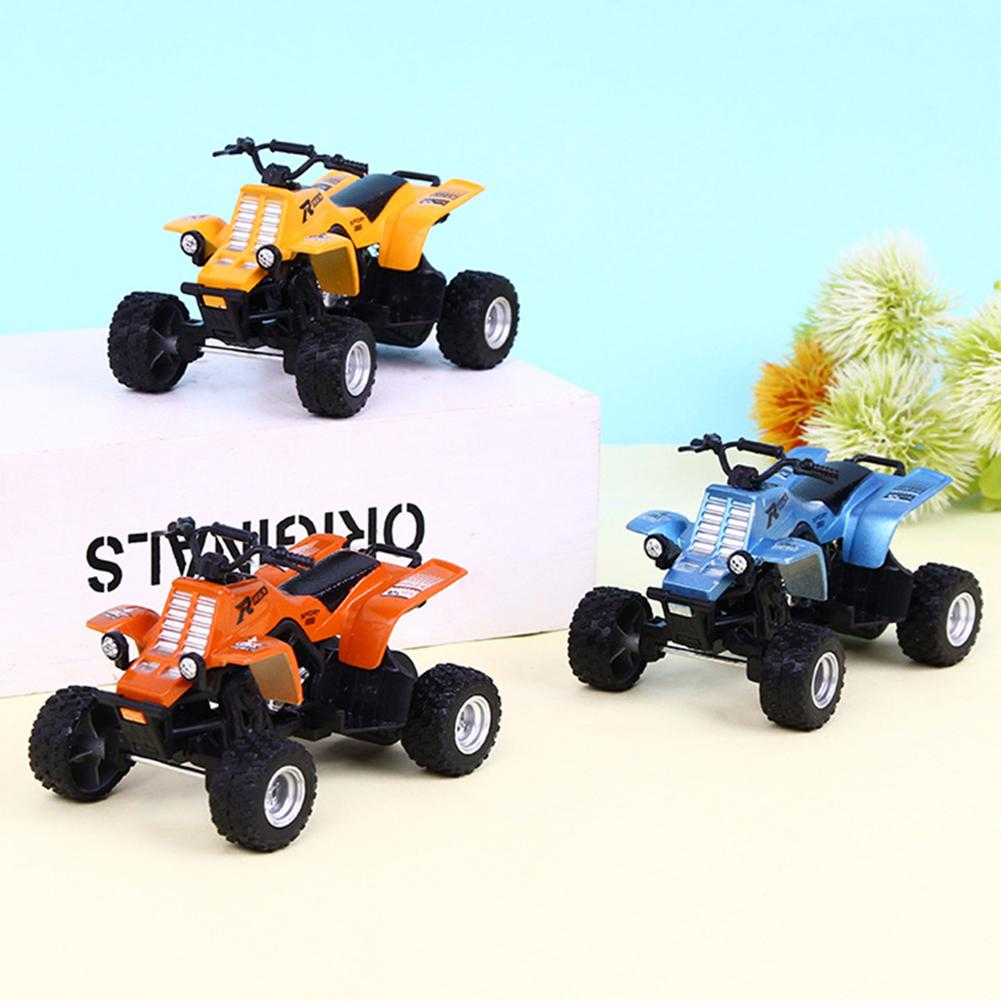 <font><b>Diecast</b></font> Beach Mini Motorcycle Model Shockproof Inertial Sliding Cars Kids Gift Children Boys Farmer Sliding Toys Model image