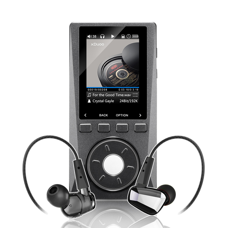XDUOO X10 Astrotec GX40 Portable High Resolution Lossless DSD Music Player High Fidelity IEMs In ear