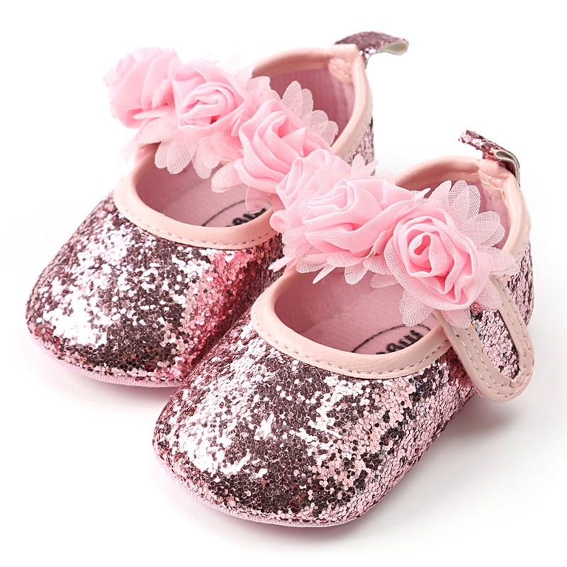 Floewers Baby Shoes Spring Newborn Baby Girl Shoes Flowers First Walkers Princess Flowers Shoes For Girl