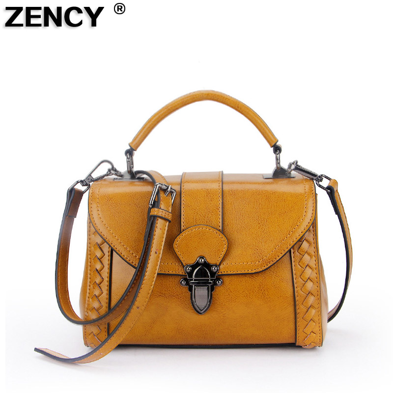 Excellent Genuine Leather Small Summer Womens Tote Bag Girl Elegant Handbags Oil Wax Cowhide Female Crossbody Messenger BagsExcellent Genuine Leather Small Summer Womens Tote Bag Girl Elegant Handbags Oil Wax Cowhide Female Crossbody Messenger Bags