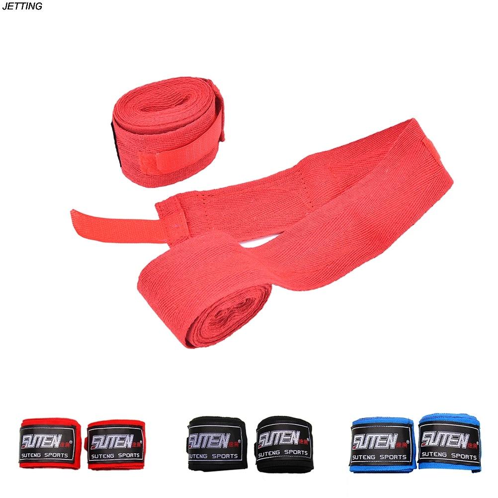 2Pcs//Pack 5M Length 5cm Width Hand Wraps Boxing Handwraps For Training Banda PA