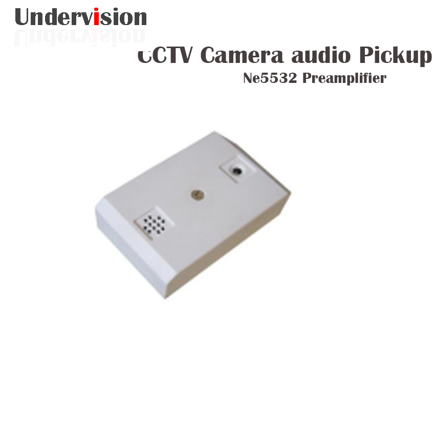 Pickup audio cctv system CCTV DVR with CCTV Security Microphone For CCTV Camera CAM DVR Audio Monitor Au niko 50pcs chrome single coil pickup screws