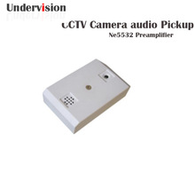 Pickup audio cctv system CCTV DVR with CCTV Security Microphone For CCTV Camera CAM DVR Audio Monitor Au