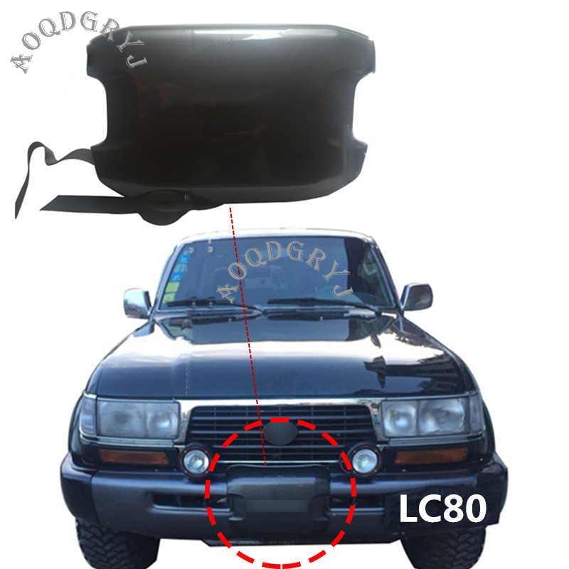 Car Styling Per Toyota Land Cruiser LC80 FZJ80 1992-1997 ABS Paraurti Anteriore Winch Cover 1pcs