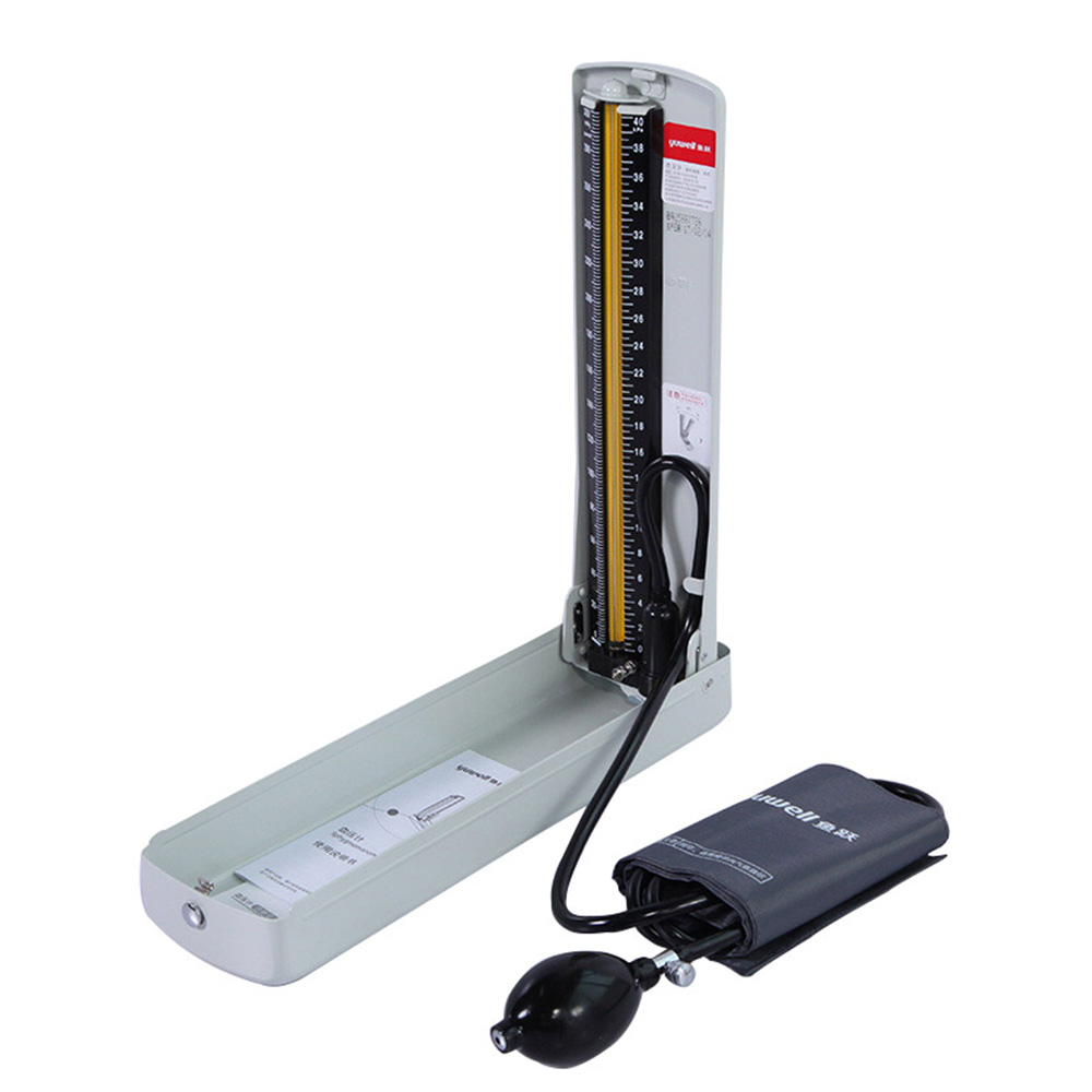 Yuwell Mercury Sphygmomanometer Arm Medical Equipment Blood Pressure Monitor Professional Medical Sphygmometer Health CareYuwell Mercury Sphygmomanometer Arm Medical Equipment Blood Pressure Monitor Professional Medical Sphygmometer Health Care