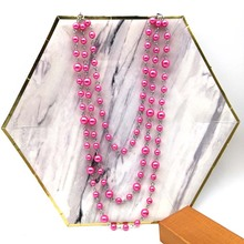 Dandie fashion three layer imitation pearl necklace, color available