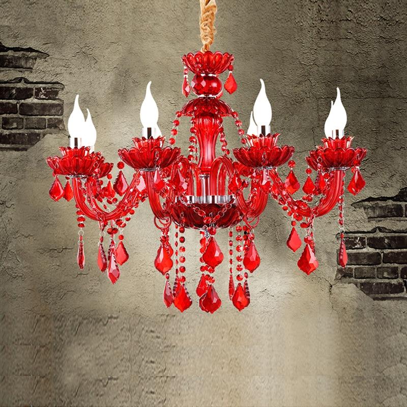 Ресторан Хрустальные Люстры крытый освещение для дома светильники Современные светодиодные хрустальные люстры для кухни K9 хрустальные лю…