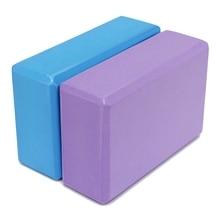 EVA Yoga Pilates Blocks Bricks Foaming Foam Stretch Home Exercise Fitness Sports Health Gym Practice Tool 22.5×14.8×7.8cm
