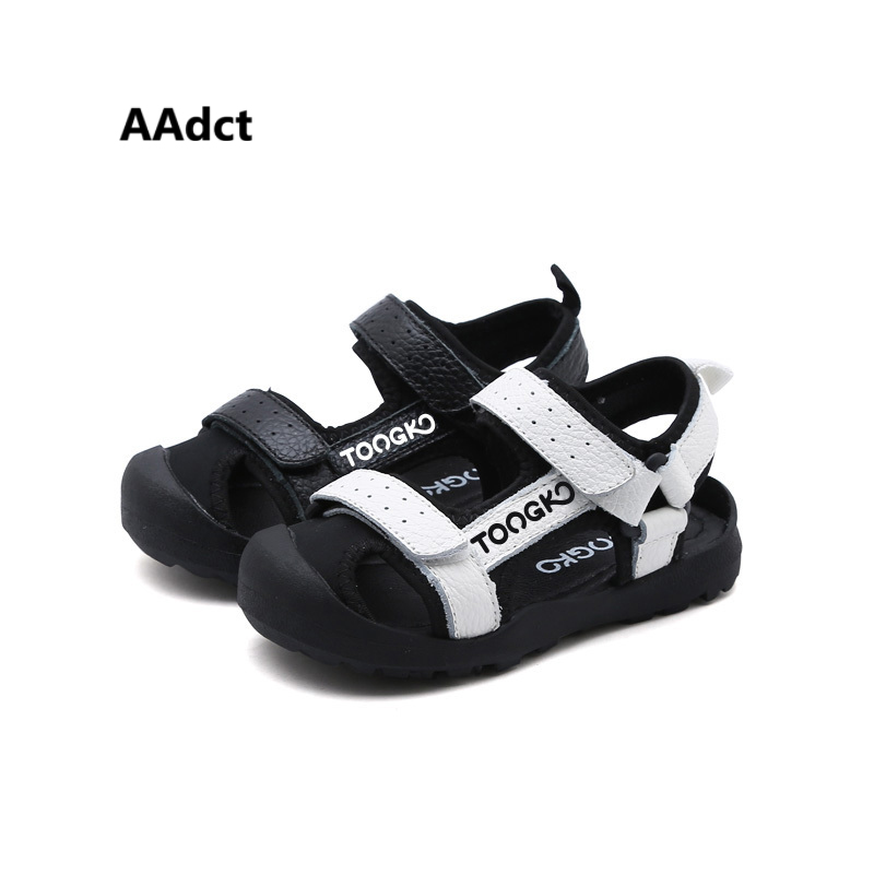 AAdct 2018 new boys sandals summer sports Brand kids sandals for boys Closed-toe children shoes High-quality