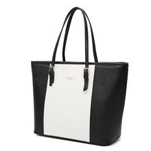 2018 New Style European And American Ms Handbag One-Shoulder Fashion Foreign Trade Bucket Mummy Bag Guangzhou Handbags Spot Cust