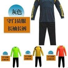 44f947add05 triseven Goalkeeper Soccer Jersey Sets 4 Colors Training kits Porteros ropa  Football Shirts Custom Design have