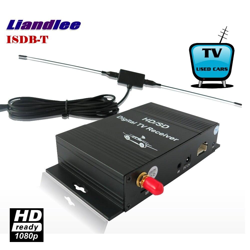 Liandlee Car Digital TV Receiver ISDB-T Mobile SDHD 1080P CVBS Turner Host Antenna For South America / Model ISDB-T-M-288X