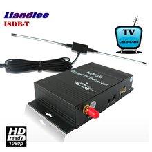 Liandlee Car Digital TV Receiver ISDB-T Mobile SDHD 1080P CVBS Turner Host TV Antenna For South America / Model ISDB-T-M-288X car digital tv isdb t brazil digital tv receiver for south american countries