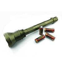 1 компл. Trustfire светодиодный фонарик ak-90 12 * CREE XML-T6 13000 lm 5-режим тактический фонарик W/4 x 26650 Батарея для кемпинга