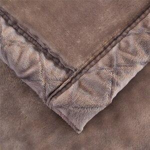 Image 5 - Winter Warme Raschel Decke Tier Pferd Gedruckt Bett Cobertor Doppelschicht Königin König Größe Dicke Weiche Nerz Decken