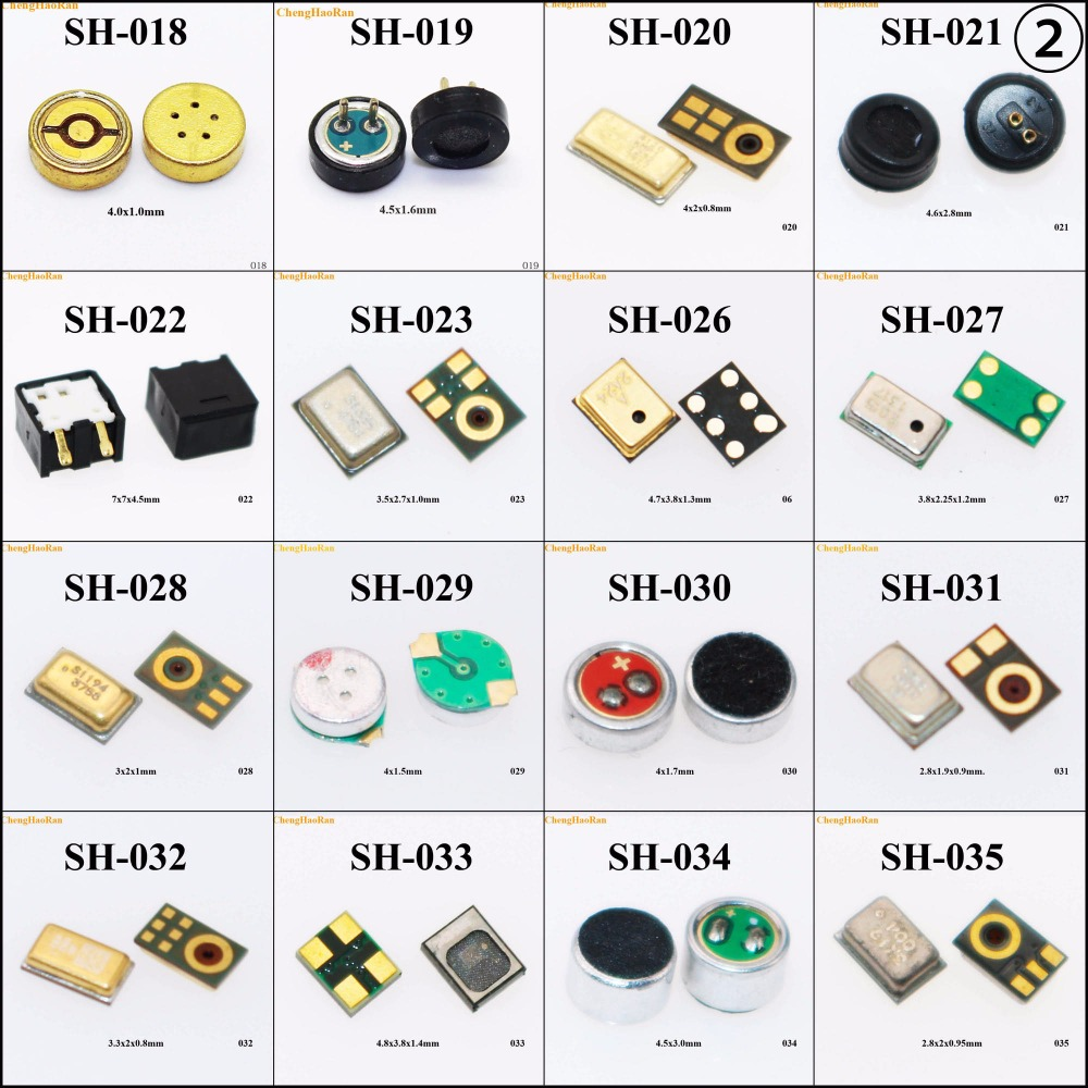 (2) 38 Models Repair Board MIC Microphone FOR IPhone 7/7 Plus/Nokia Lumia 503 N73/Huawei C5730 FOR Samsung S6 Edge Replacement