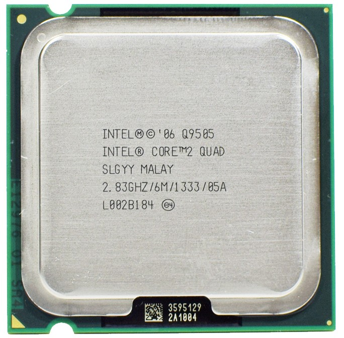 Intel Core 2 Quad Q9505 Processor 2.83 GHz 1333 MHz LGA 775 CPU