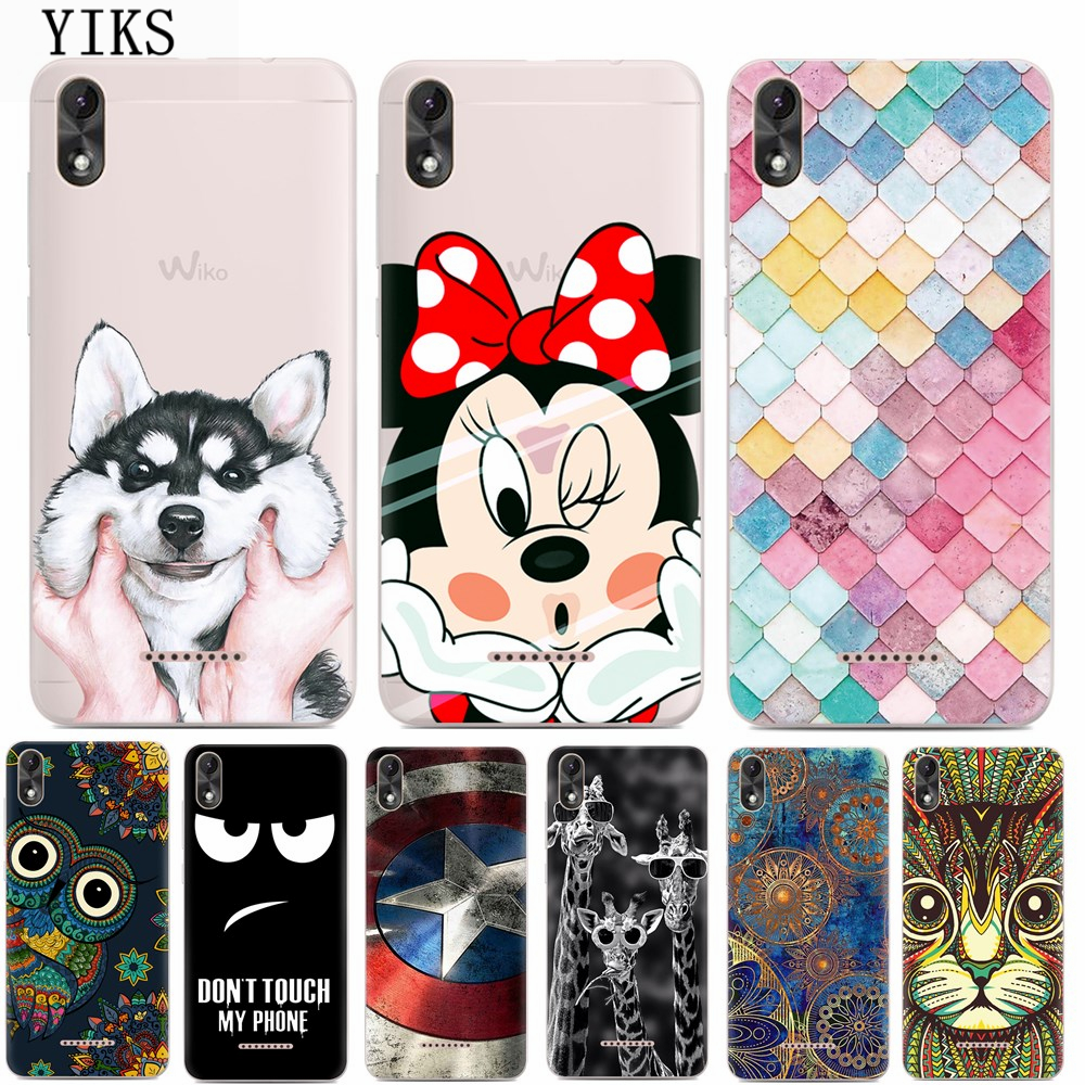yiks sfor coque wiko lenny 4 plus case luxury cartoon tpu. Black Bedroom Furniture Sets. Home Design Ideas