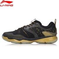 Li Ning 2018 Для мужчин Ranger бадминтон обувь профессиональных носимых подушки BOUNSE + Li Ning спортивная обувь кроссовки AYAM009