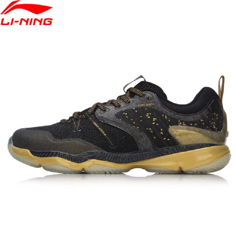 Li-Ning 2018 Men Ranger Badminton Shoes Professional Wearable Cushion BOUNSE+ Li Ning Sports Shoes Sneakers AYAM009 li ning original men ranger td badminton training shoes breathable sneakers wear resistance li ning sports shoes aytm081