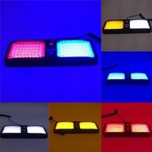 Hot 86LED Car Warning Light Sun Visor Panel Mounted 12 Modes Flashing Lamp for Emergency BX цена