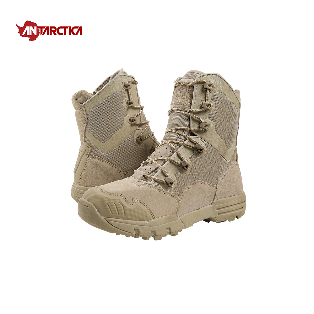 цена ANTARCTICA Outdoor Sports Men's Hiking Shoes Waterproof Hiking Boots Tactical Boots Outdoor Mountain Climbing Sports Sneakers