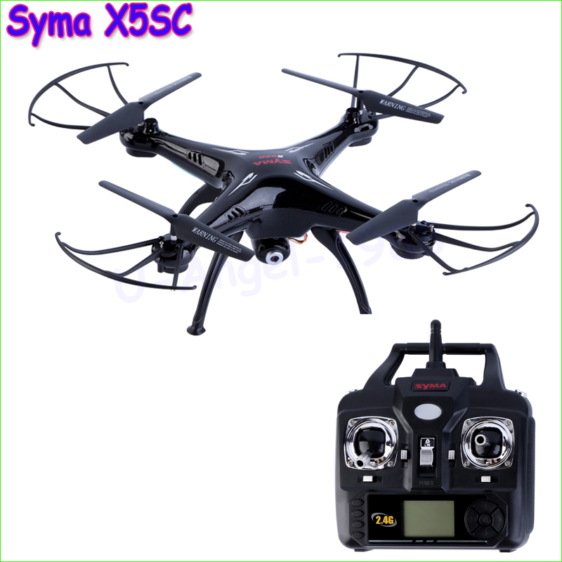 100% New Version Syma X5SC 2.4G 6 Axis GYRO RC Quadcopter RTF RC Helicopter with 2.0MP Camera Syma X5C Upgraded запчасти и аксессуары для радиоуправляемых игрушек no syma x 5 x5c new