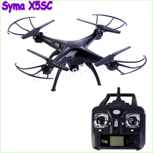 100% Original New Version Syma X5SC 2.4G 6 Axis GYRO RC Quadcopter RTF RC Helicopter with 2.0MP Camera Syma X5C Upgraded