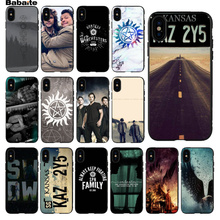 Babaite Supernatural Special Offer Luxury Phone Case Cover for Apple iPhone 5 5S SE 6 6S 7 8 Plus X XS MAX  XR Cellphones case