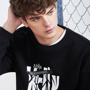 Image 3 - Pioneer camp nowa zimowa bluza polarowa bluzy męskie marki odzież casual bluza z nadrukiem jakości bawełny dres AWY806084