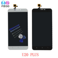 5.5 original tela For Oukitel U20 PLUS LCD Display+ Touch Screen Digitizer Assembly U20 Plus Tested Digitizer Panel Replacement