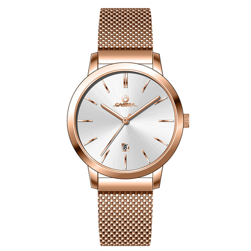 CASIMA 2018 New Arrival reloj mujer Mesh Steel Watch Women Ladies Fashion Lovers Watches Waterproof Couple Clock montre femmeCASIMA 2018 New Arrival reloj mujer Mesh Steel Watch Women Ladies Fashion Lovers Watches Waterproof Couple Clock montre femme