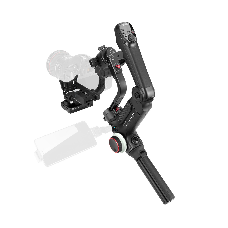DHL Zhiyun Crane 3 LAB 3-axis Handheld Gimbal DSLR Camera stabilizer for Sony A7M3 A7R3 Canon 6D 5D Panasonic GH4 GH5 Nikon D850 5